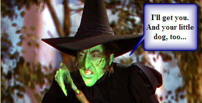 Wicked Witch of the West (aka Guilt)